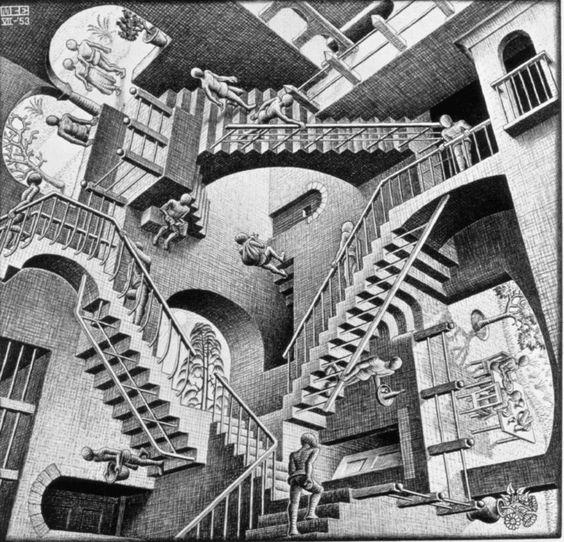 escalera imposible